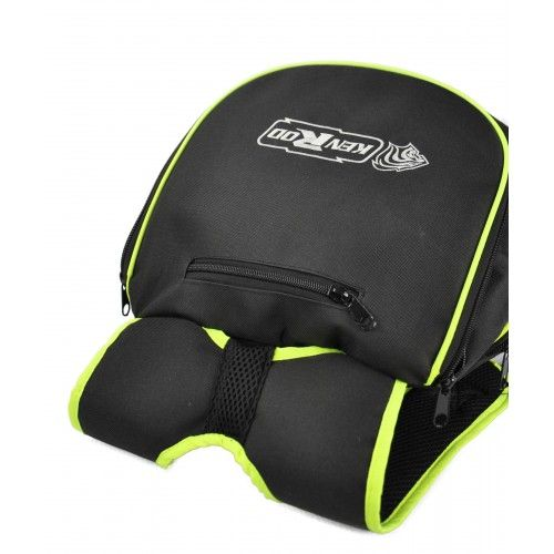 Motorcycle helmet backpack with reflective lines Kenrod - 2