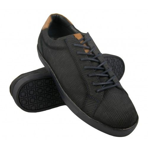 Low-top leather sneakers with laces Zerimar - 1