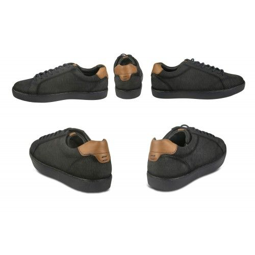 Low-top leather sneakers with laces Zerimar - 2