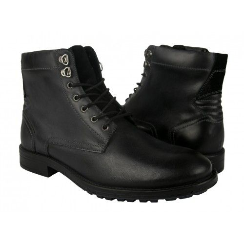Military leather ankle...