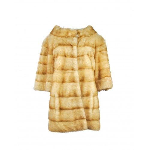 Mink coat with button on the collar Zerimar - 1