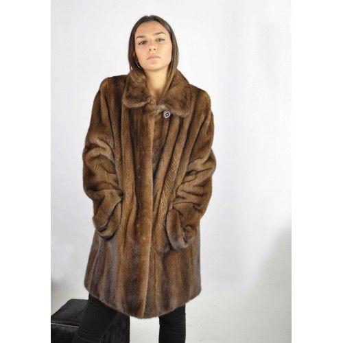 Demi buff long mink coat Zerimar - 1