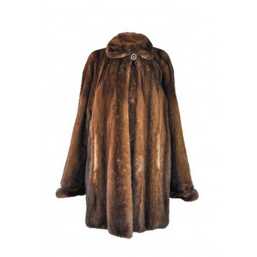 Demi buff long mink coat Zerimar - 2