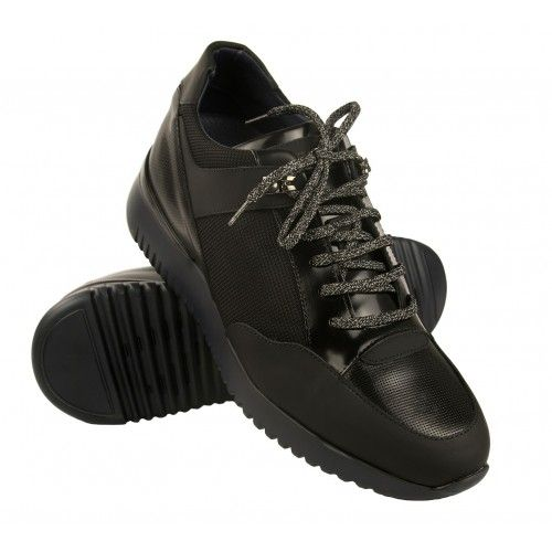 Elevator sneakers with laces with 7 cm Zerimar - 1