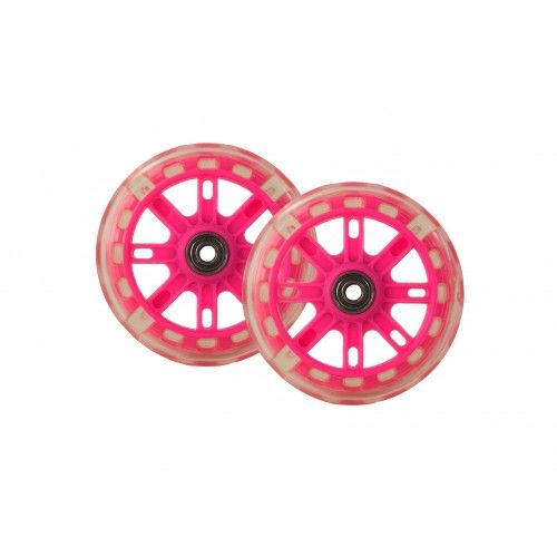 Pack of two spare wheels with lights for scooter Airel - 1