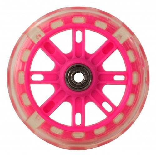 Pack of two spare wheels with lights for scooter Airel - 2