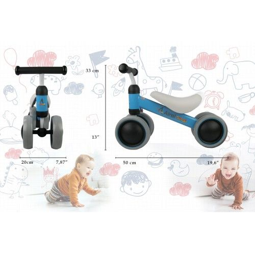 0 to 3 year pedalless tricycle