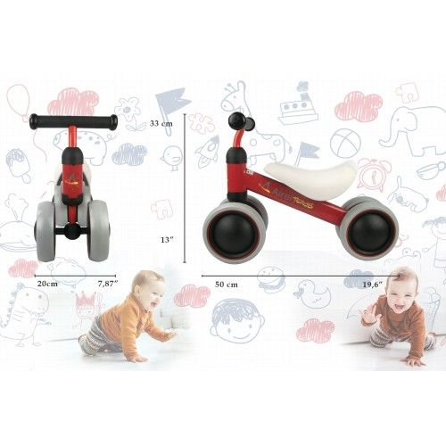 0 to 3 year pedalless tricycle Airel - 2