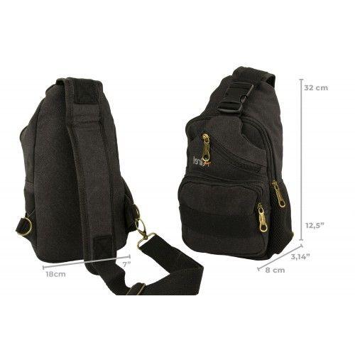Tactical shoulder bag with multipockets 32x18x8cm Airel - 5