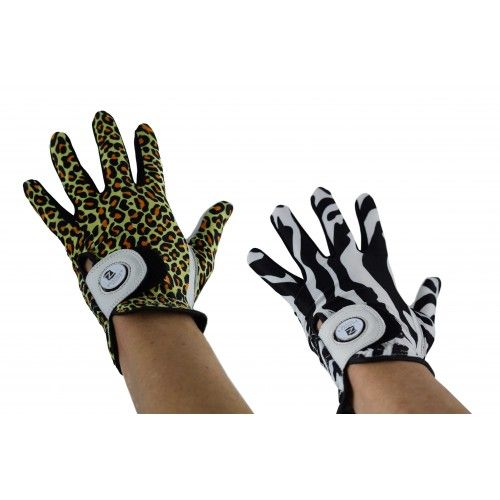 Pack of golf gloves made of leather for men - left Airel - 1