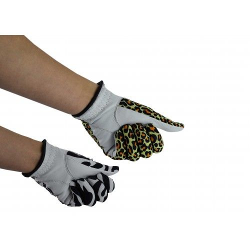 Pack of golf gloves made of...