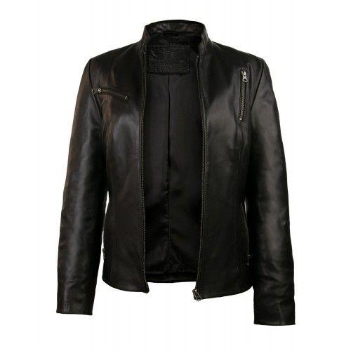 ELITE leather jacket with...