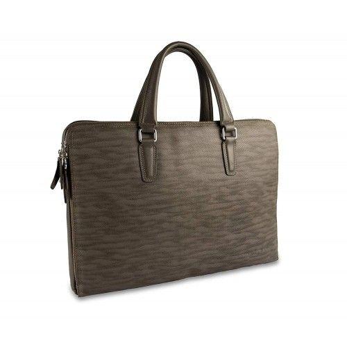 Leather Messenger Bag style vintage Zerimar - 1