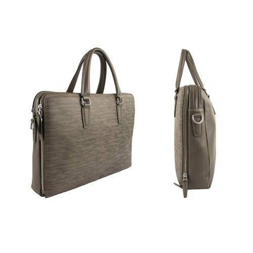 Leather Messenger Bag style vintage Zerimar - 2