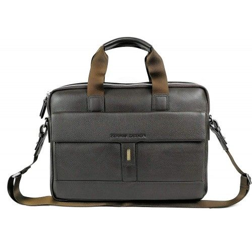 Shoulder bag made of leather with multiple compartments Zerimar - 1
