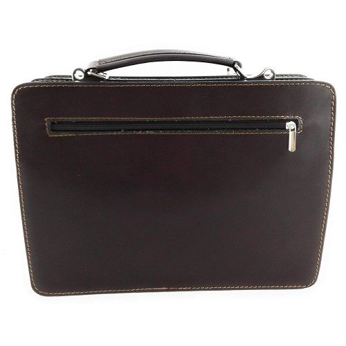 Natural leather briefcase...