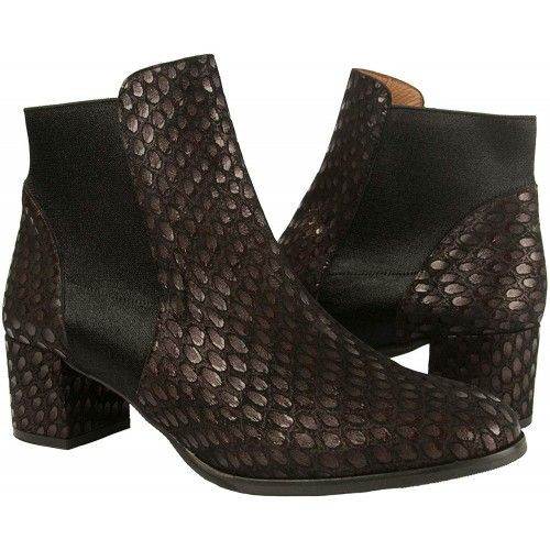 Leather Ankle Boots with Heels in Elegant Style- Made in Spain Zerimar - 1