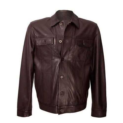 Vintage style leather...