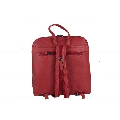 Leather Backpack, Vintage Backpack, Leather Retro Backpack 2 Zerimar - 2