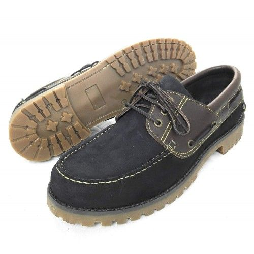 Leather Boat Shoes for Men, Big Sizes, Leather Loafers Men 1 Zerimar - 2