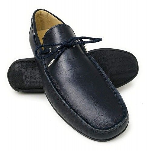 Leather Boat Shoes for Men, Big Sizes, Leather Loafers Men 3 Zerimar - 1