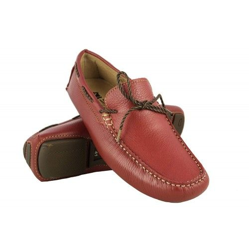 Leather Boat Shoes for Men, Big Sizes, Leather Loafers Men 4 Zerimar - 1