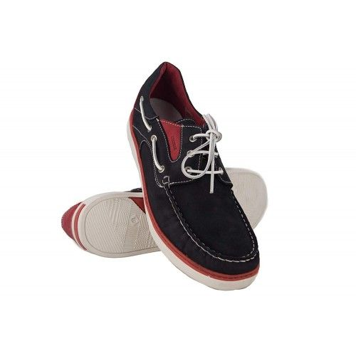 Leather Boat Shoes for Men, Big Sizes, Leather Loafers Men Zerimar - 1