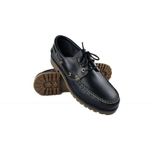 Leather Boat Shoes for Men, Big Sizes, Leather Loafers Men-2 Zerimar - 1