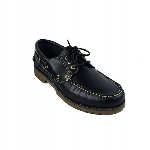 Leather Boat Shoes for Men, Big Sizes, Leather Loafers Men-2 Zerimar - 2
