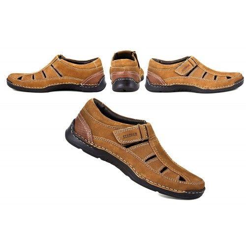 Leather Sandals for Men, Trekking Sandals Men, Summer Sandals Men 2 Zerimar - 2