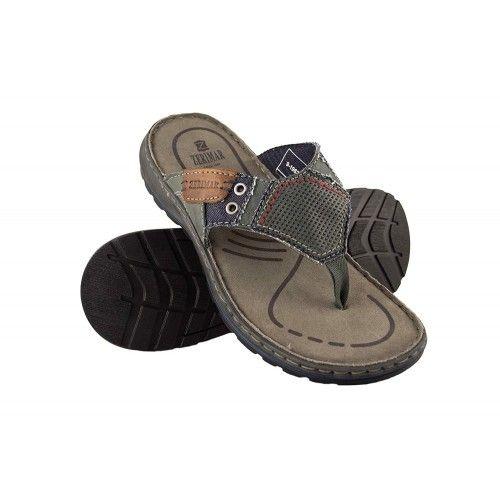 Leather Flip-Flop Men, Flip-Flop Men, Leather Sandals for Men 1 Zerimar - 1