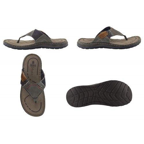Leather Flip-Flop Men, Flip-Flop Men, Leather Sandals for Men 1 Zerimar - 2