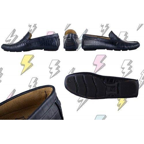 Mocassins Men, Leather...