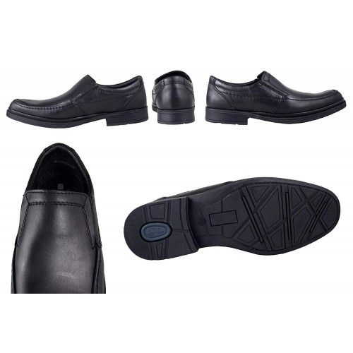 Leather Shoes for Men, Work Shoes for Men, Leather Work Shoes Men 3 Zerimar - 2