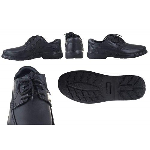 Leather Shoes for Men, Work Shoes for Men, Leather Work Shoes Men-8 Zerimar - 2