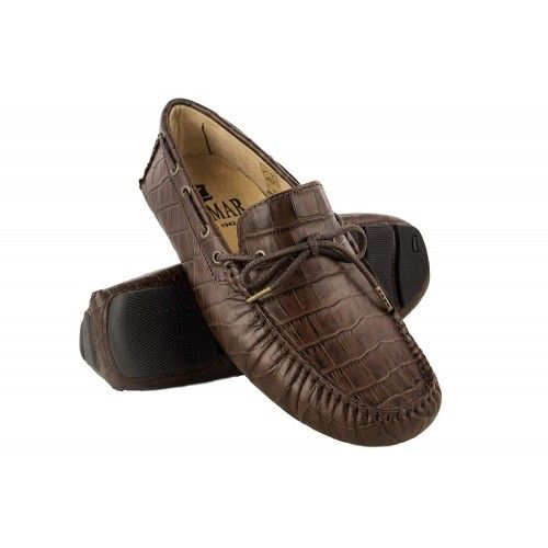 Leather Boat Shoes for Men, Leather Nautical Shoes Men, Loafers Men 6 Zerimar - 7