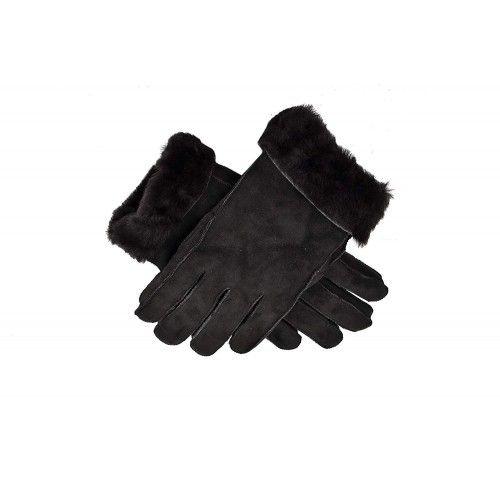 Double Face Gloves, Leather Gloves for Men, Winter Gloves Men Zerimar - 1