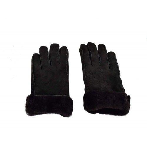 Double Face Gloves, Leather Gloves for Men, Winter Gloves Men Zerimar - 2