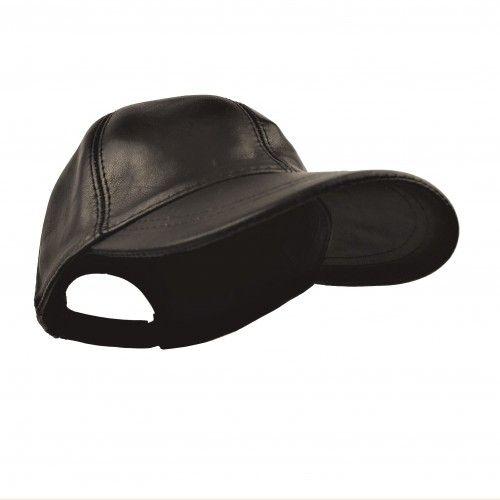 Leather Beret for Men,...