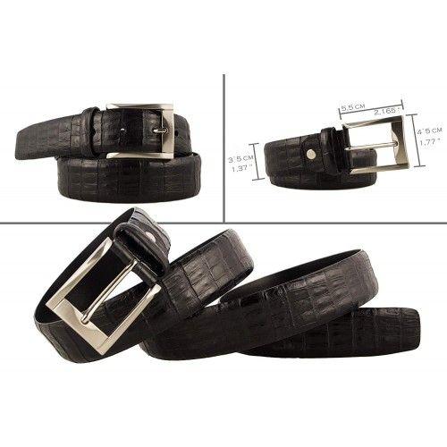 Leather Belf for Men, Elegant Belt for Men, Leather Belts for Men Zerimar - 2