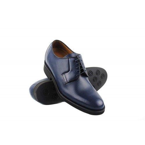 Men Leather Shoes, Elevator...