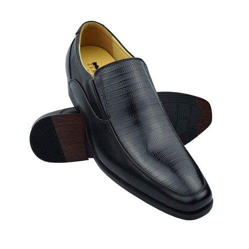 Men Leather Shoes, Elevator Shoes 2,7 in, Casual Shoes for Men 2 Zerimar - 1