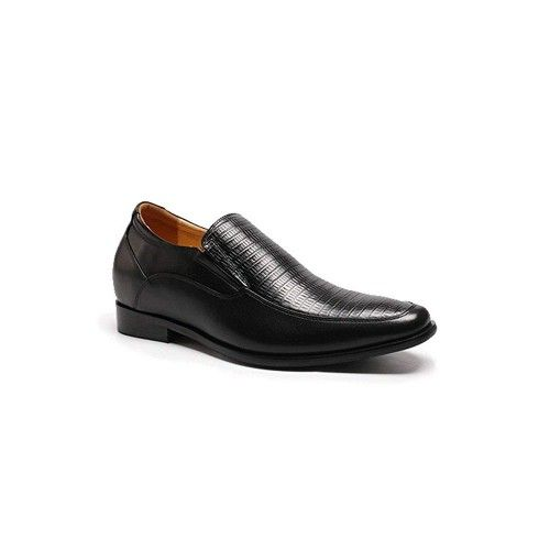 Men Leather Shoes, Elevator Shoes 2,7 in, Casual Shoes for Men 2 Zerimar - 2