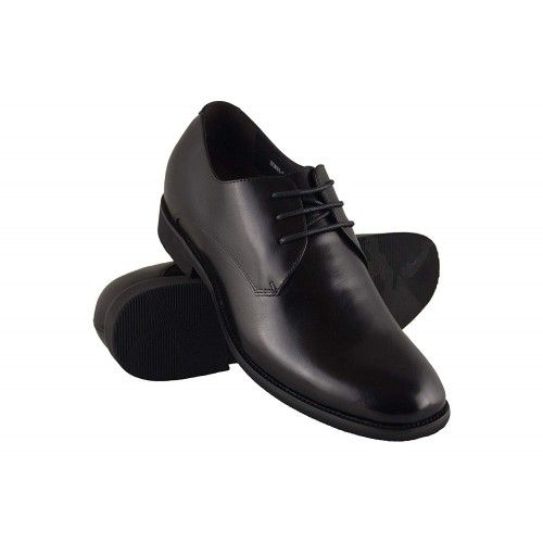 Men Leather Shoes, Elevator Shoes 2,7 in, Casual Shoes for Men 1 Zerimar - 1