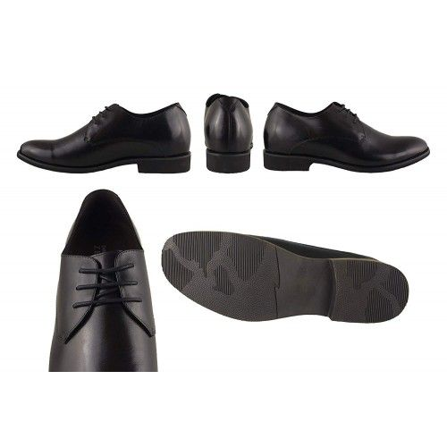 Men Leather Shoes, Elevator Shoes 2,7 in, Casual Shoes for Men 1 Zerimar - 2