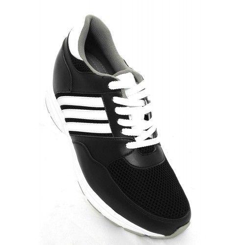 Men Leather Shoes, Elevator Shoes 2,7 in, Sport Shoes for Men 4 Zerimar - 2