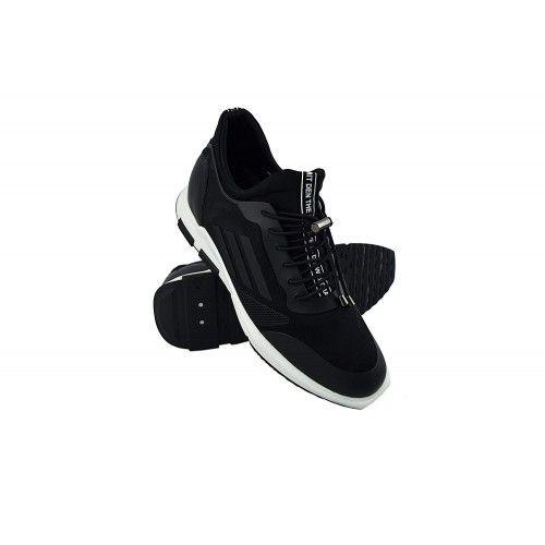 Men Leather Shoes, Elevator Shoes 2,7 in, Sport Shoes for Men 5 Zerimar - 1