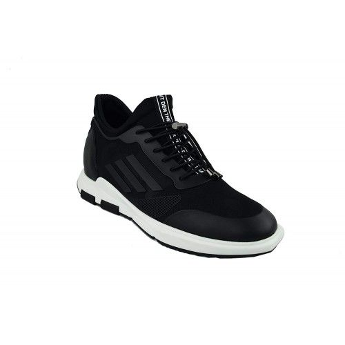 Men Leather Shoes, Elevator Shoes 2,7 in, Sport Shoes for Men 5 Zerimar - 2