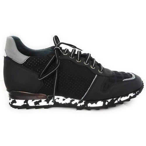 Men Leather Shoes, Elevator Shoes 2,7 in, Sport Shoes for Men Zerimar - 2