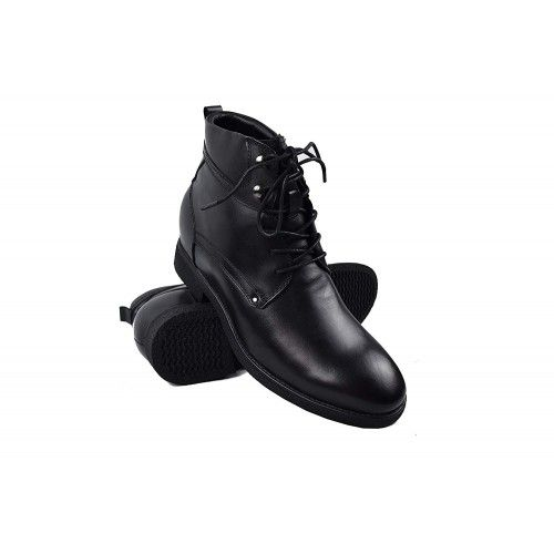 Military style elevator boots with laces 7 cm Zerimar - 1